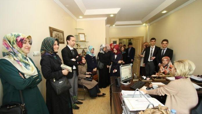 Akyazı'ya Atanan Yeni Öğretmenler Belediyeyi Gezdi