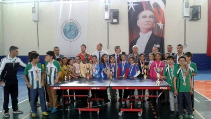 Küçüklerde Masa Tenisinin Şampiyonları Belli Oldu
