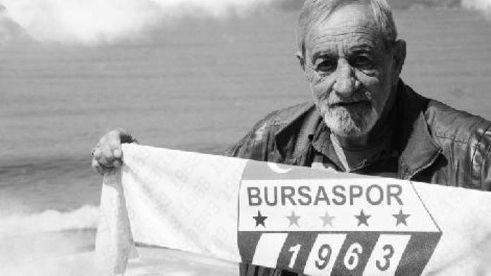 Bursaspor'un ilk futbolcularından Cengiz Yazıcı vefat etti