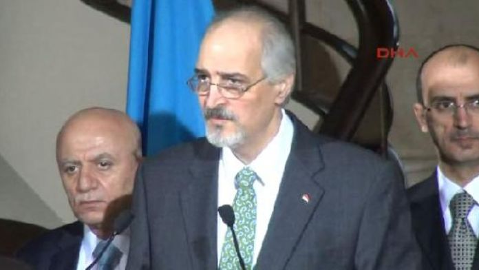 Büyükelçi Beşar El Caferi: 'Esad'ın geleceği müzakerelere bağlı değil'