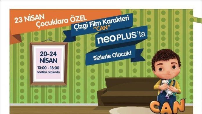 Çizgi Film Karakteri 'Can' Neoplus'ta