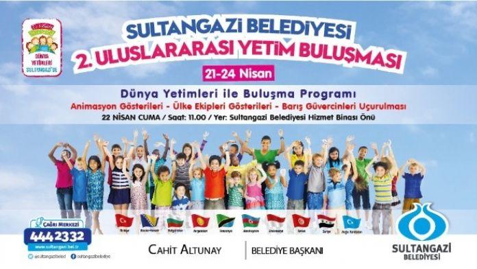Dünya Yetimleri Sultangazi'de Buluşuyor