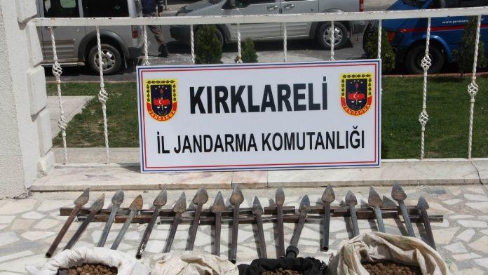 İzinsiz salep soğanı toplayan 2 kişiye 80 bin TL ceza
