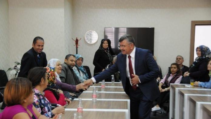 Sakatlar Derneği'nden Başkan Akdoğan'a Ziyaret