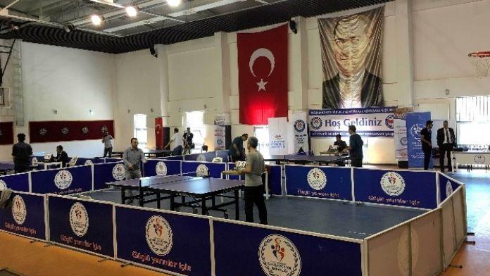 Eğitim-bir-sen Adıyaman Şubesi Masa Tenisi Turnuvası Düzenledi