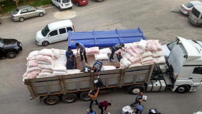 Mardin'de TIR'dan 799 bin paket kaçak sigara çıktı