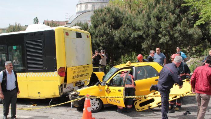İstanbul'da feci kaza: 1 ölü