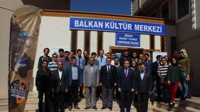 Edirne'de 'Göç Ve Avrupa'nın Mülteci Politikaları' Semineri Düzenlendi