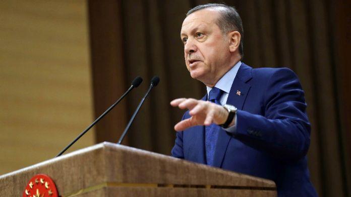 Erdoğan: Ne hallere düştüler !