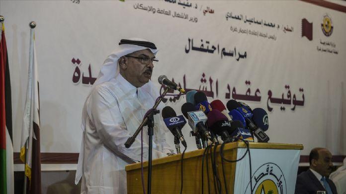 Katar'dan Gazze'ye yeni proje desteği