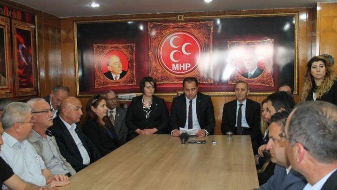 MHP Bolu İl Teşkilatından Akşener'e Destek