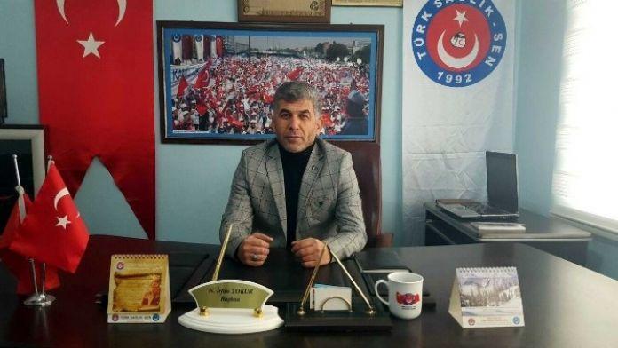 Türk Sağlık-sen Başkanı Tokur'dan 'Yemek Ücretleri' Açıklaması