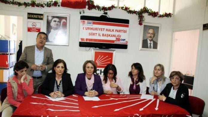 CHP'li Kadınlar Terör Mağdurlarının Elinden Tuttu
