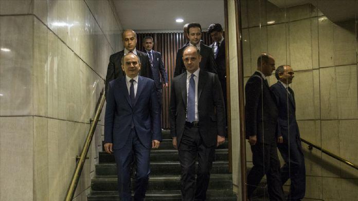 Başçı, Merkez Bankası Başkanlığı görevini Çetinkaya'ya devretti