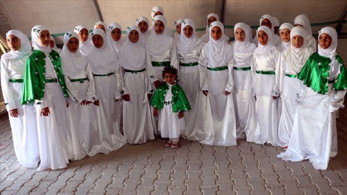 Çadır kentte Kutlu Doğum Haftası etkinliği
