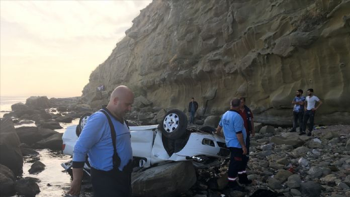 Tekirdağ'da uçuruma düşen araçtaki 4 kişi öldü