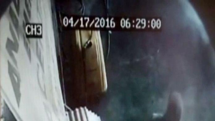 (Özel Haber) Çöp Kutusu Hırsızı Güvenlik Kamerasında