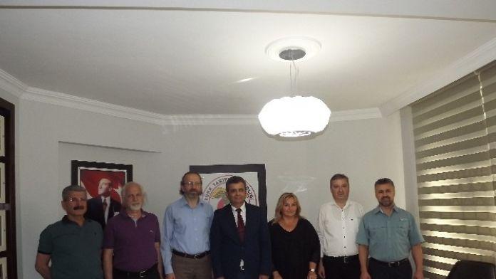 Aydın Tabip Odası Yeni Yönetim Ve 2 Yıllık Projelerini Tanıttı