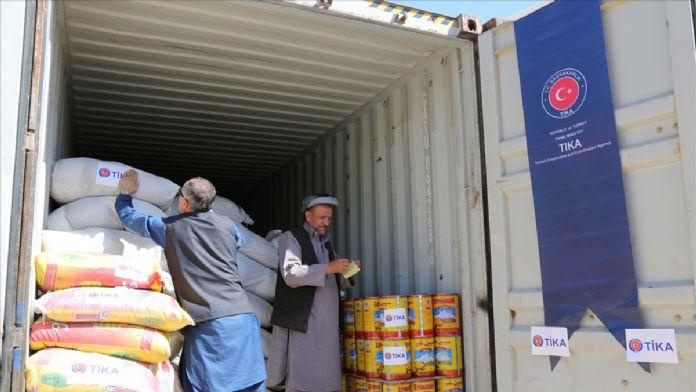 TİKA'dan Afganistan'daki terör mağdurlarına yardım