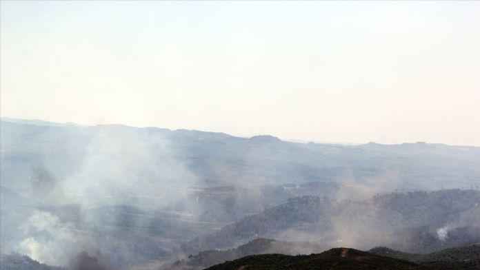 Suriye'de Yangınlar yayılıyor