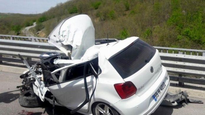 112 Çalışanı Kazada Ağır Yaralandı