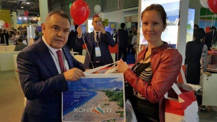 Kazakistan'da Konyaaltı Tanıtımı