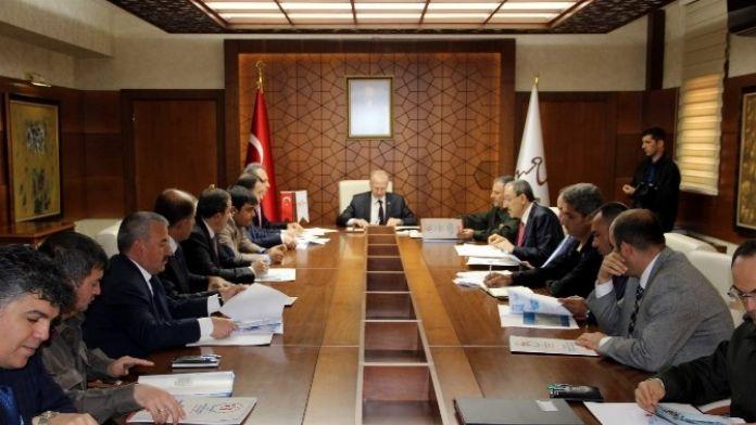 52. Cumhurbaşkanlığı Bisiklet Turu Toplantısı Nevşehir'de