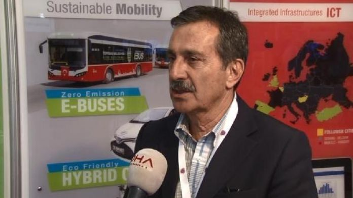 Eskişehir'in Tepebaşı Belediyesi'nde elektrikli otobüslerle ücretsiz taşıma