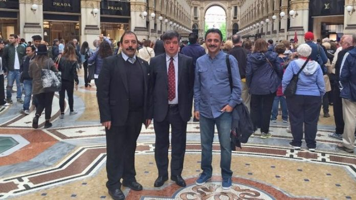 İnegöl Heyeti Milano Mobilya Fuarı'nda