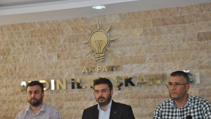 AK Parti İl Başkanı Özmen Şapkayı Önüne Koydu!