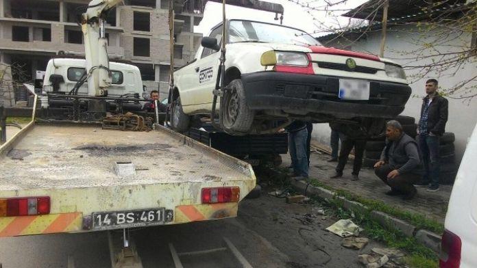 Sanayi Sitesindeki Hurda Araçlar Kaldırıldı