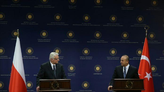 Çavuşoğlu - Waszczykowski ortak basın toplantısı