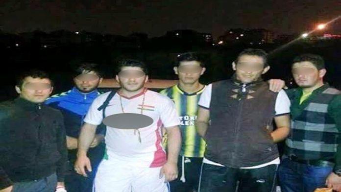 İzmir'de 'Kürdistan' yazılı forma gerginliği