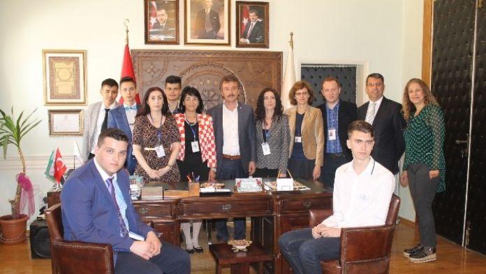 Romanya Heyeti Yenişehir'de