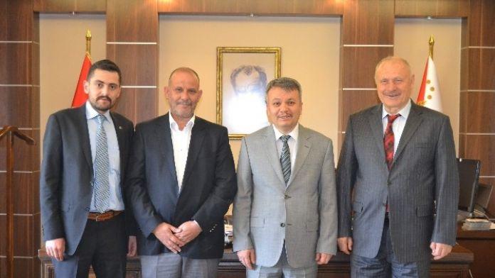MHP'den Emniyet Müdürü Şahin'e Ziyaret