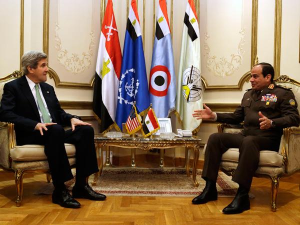 ABD Dışişleri Bakanı Kerry, Mısır'a gitti