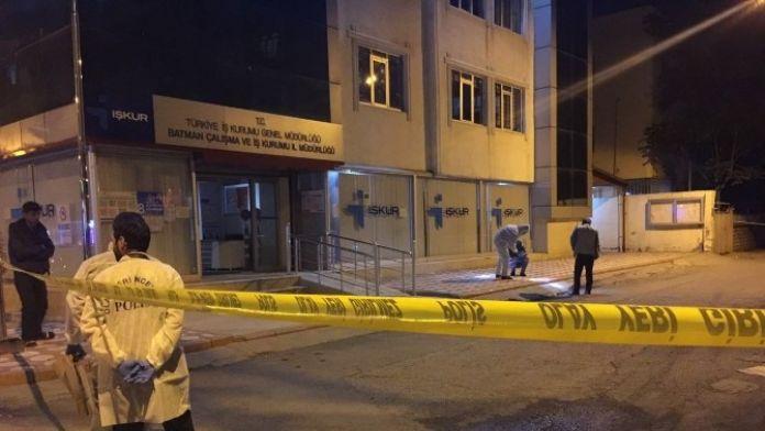 Batman'da İŞKUR Binasına Bombalı Saldırı