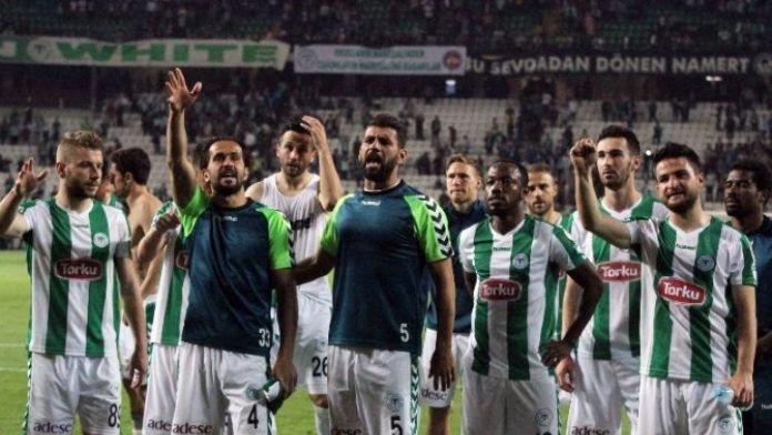 Torku Konyaspor 2016 Yılının İlk Mağlubiyetini Aldı