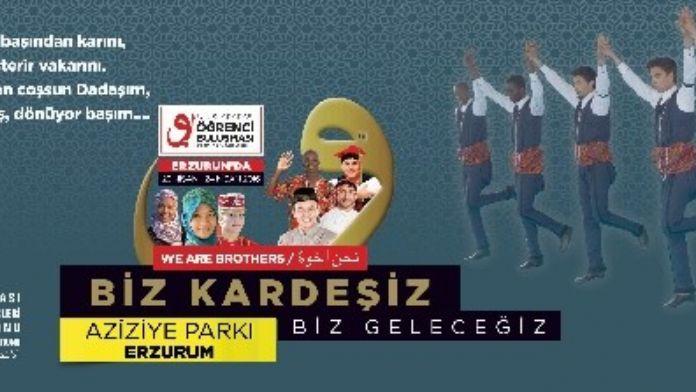 Erzurum'da Uluslar Arası Öğrenci Buluşması