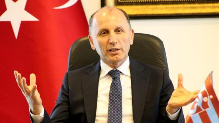 Trabzonspor'da Başkan Usta, taraftara söz verdi