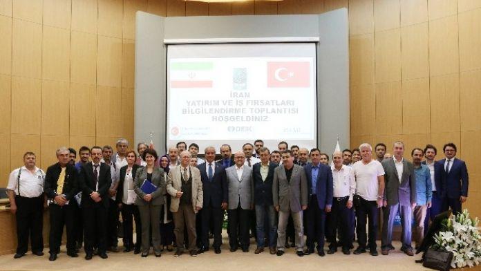 Kocaeli Ticaret Odası Üyelerine İran Pazarı Anlatıldı