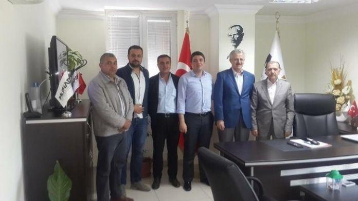 AK Parti Safranbolu Teşkilatından MÜSİAD'a Ziyaret
