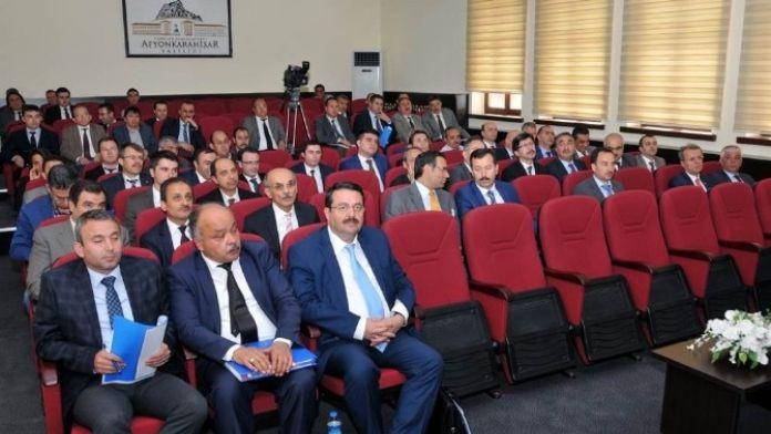 Afyonkarahisar '2016 Yılı 2. Dönem İl Koordinasyon Kurulu' Toplantısı Yapıldı