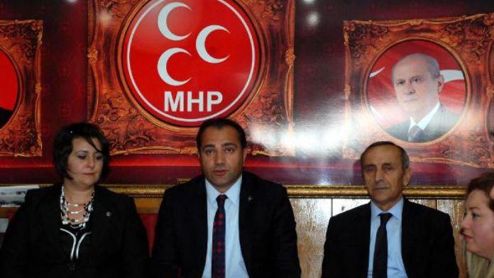 MHP Bolu İl Başkanı Aydın: 'Partiye giremiyoruz.'