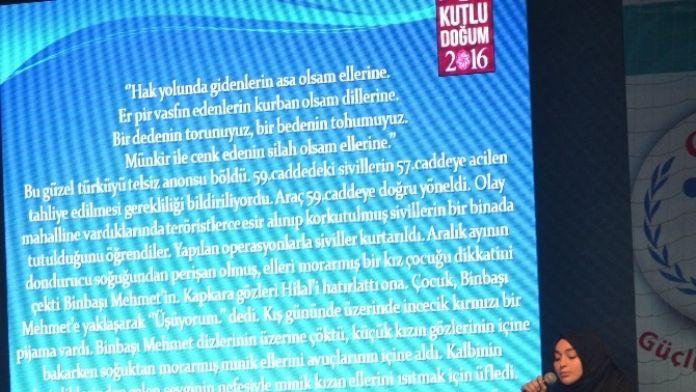 Aldığı Ödülü Silopi Jandarma Komutanlığı'na Bağışladı