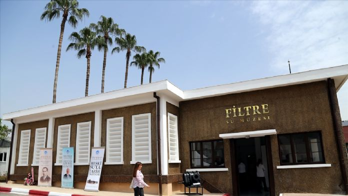 78 yıllık su arıtma tesisi müze oldu