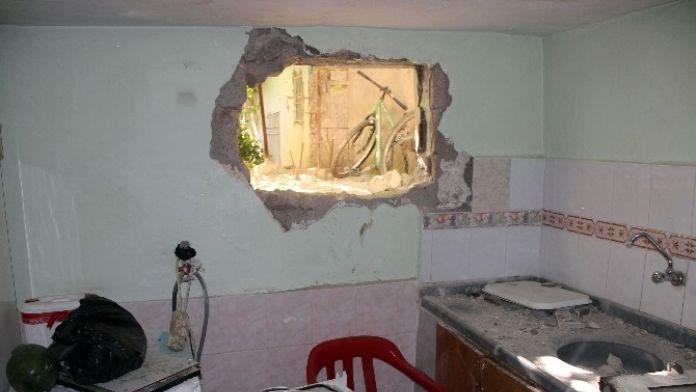 Nusaybin'de Teröristlerin Verdiği Tahribat Görüntülendi