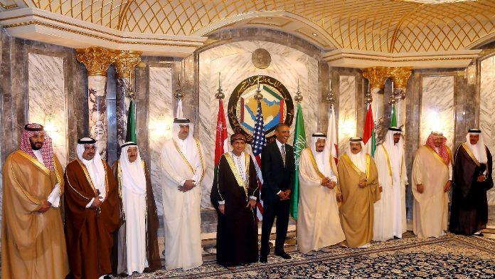 Obama, Riyad'ta aile fotoğrafında