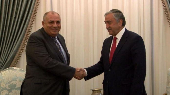 Tuğrul Türkeş KKTC Cumhurbaşkanı ile görüştü