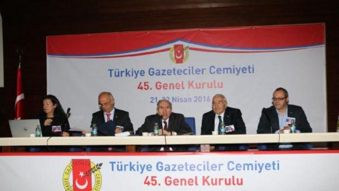 Fotoğraf // TGC'nin 45. Olağan Genel Kurulu başladı